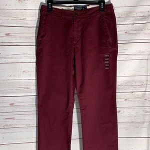 Ambercrombie & Fitch Pants Kennan Straight Stretch
